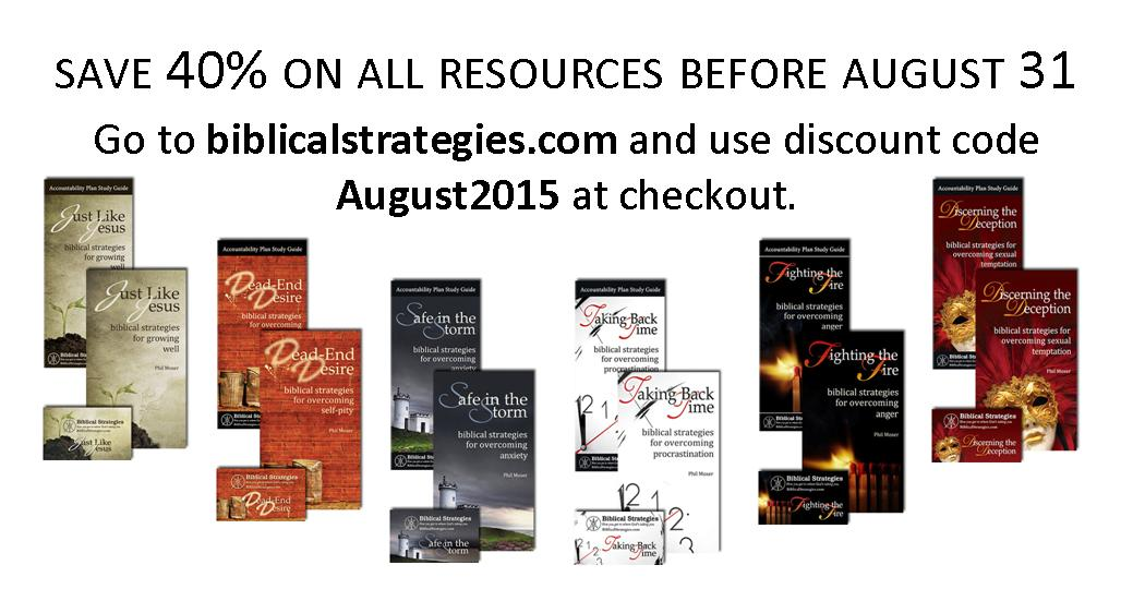 40% off resources during August