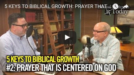 Biblical Strategies Today Episode 2: Prayer Centered on God not the Problem