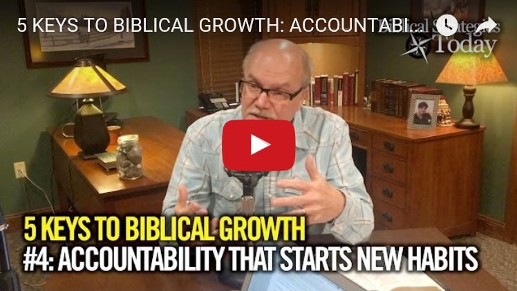 Biblical Strategies Today Podcast 4: Accountability that Starts New Habits