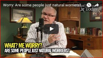 Worry: are some people just natural worriers Episode 13