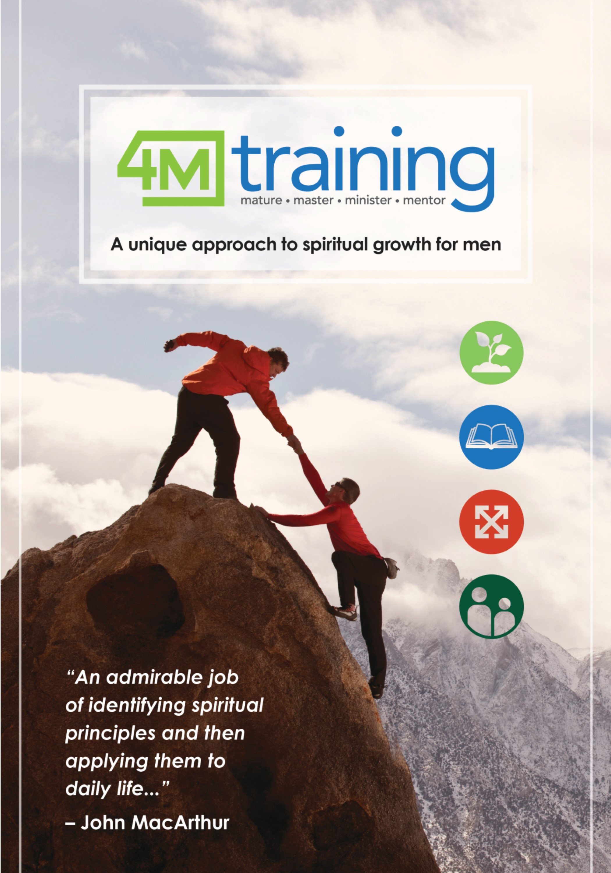 4M Training: a unique approach to spiritual growth for men